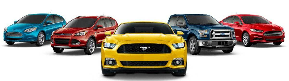 Ford vehicle lineup