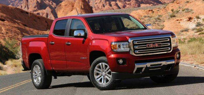 GMC Canyon Front 3/4