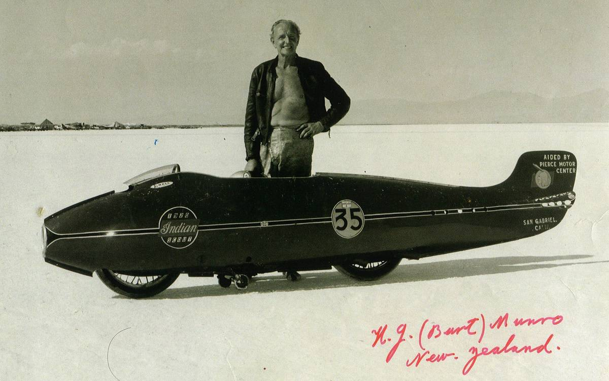 Indian Motorcycles - Burt Munro