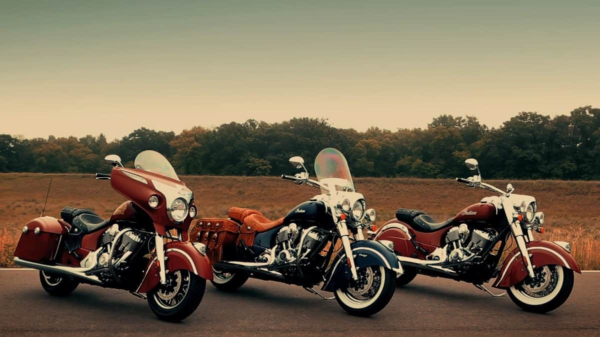 Indian Motorcycles - Chieftain