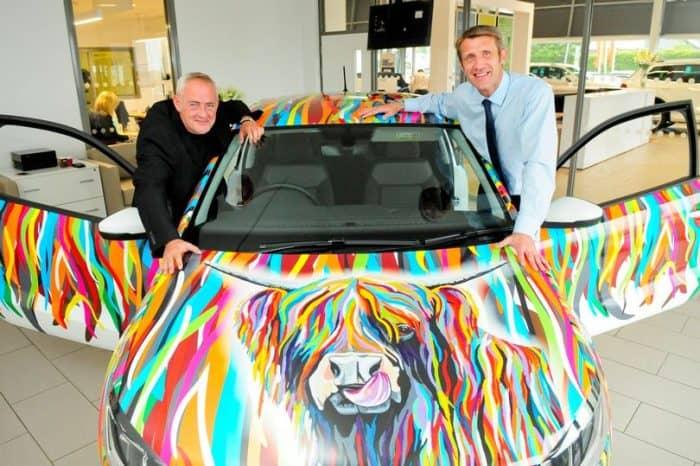 The McCoo Volkswagen Art Wrap