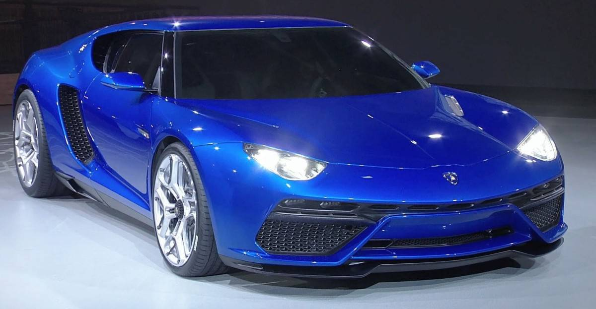Lamborghini Asterion LPI 910-4 - right front view