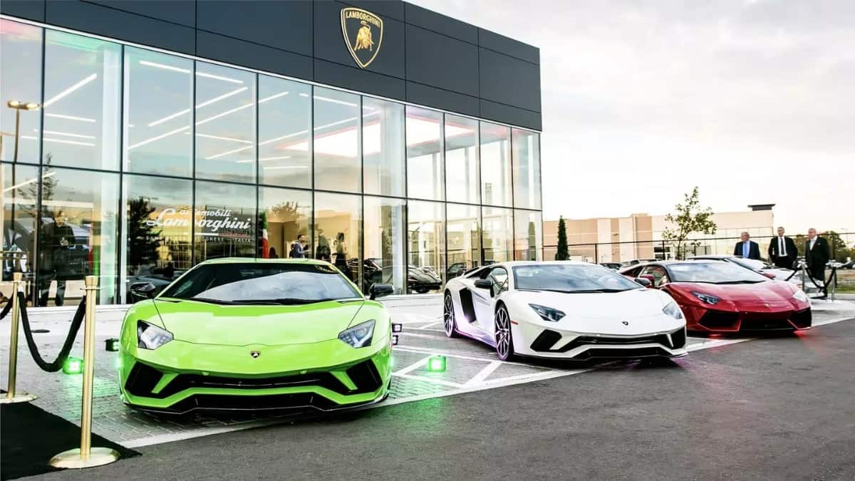 Lamborghini Dealerships