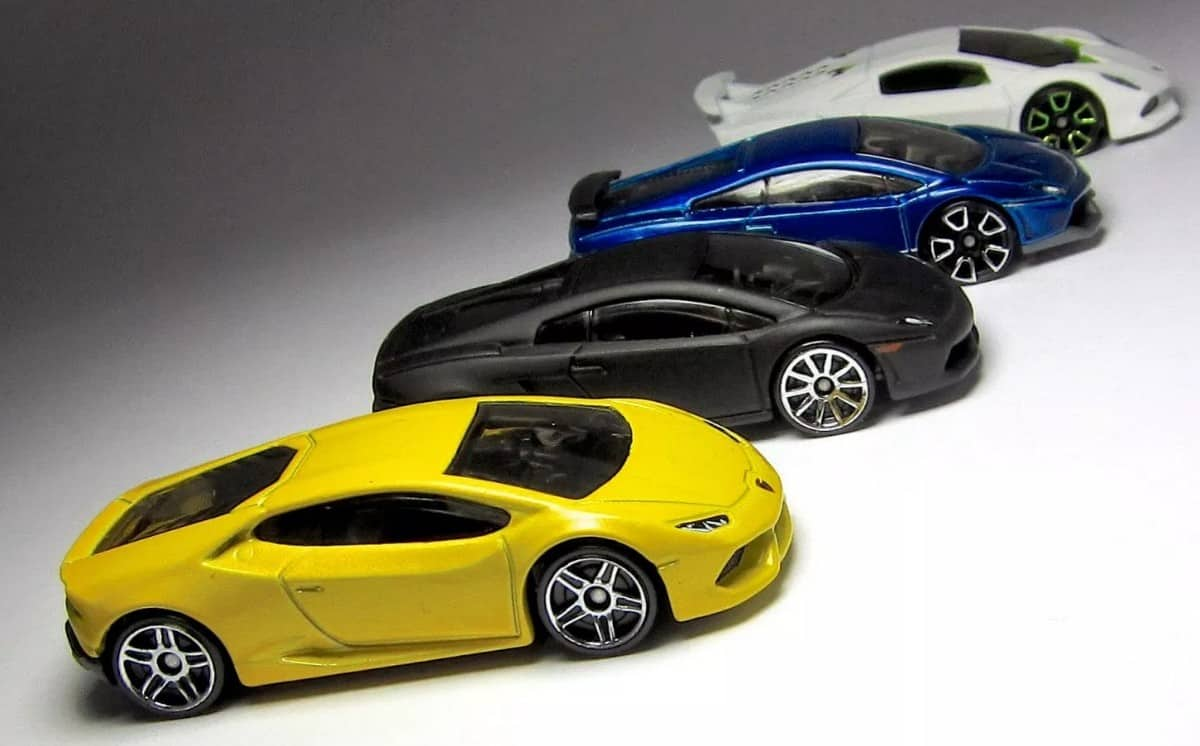 Lamborghini Hot Wheels