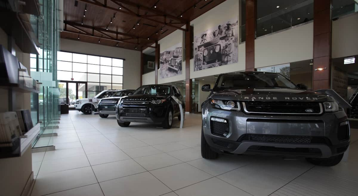 Land Rover Dealerships