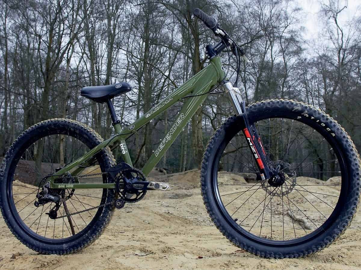 Land Rover Defender bicycle