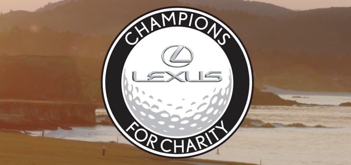 Lexus Champions for Charity golf tournament