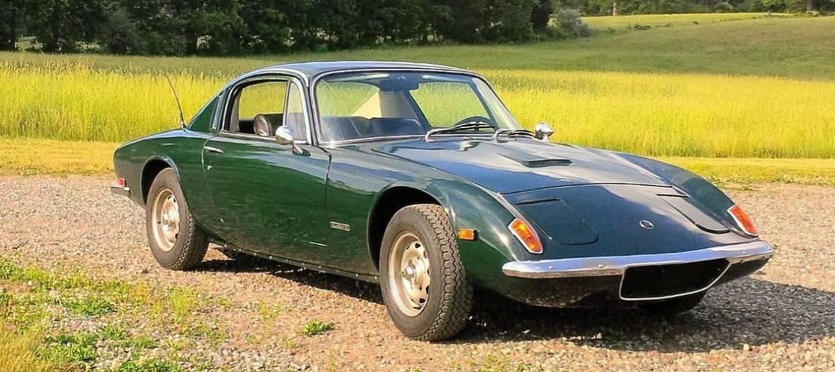 1969 Lotus Elan Plus Two - right front view