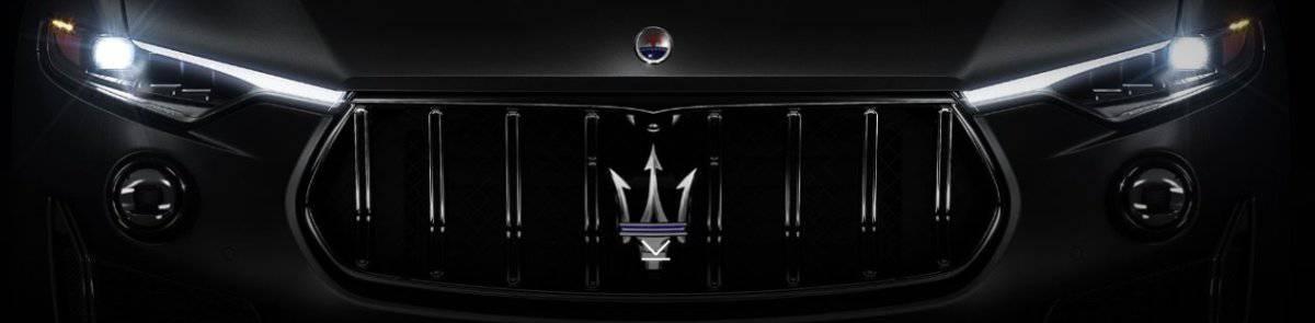 Maserati grille logo