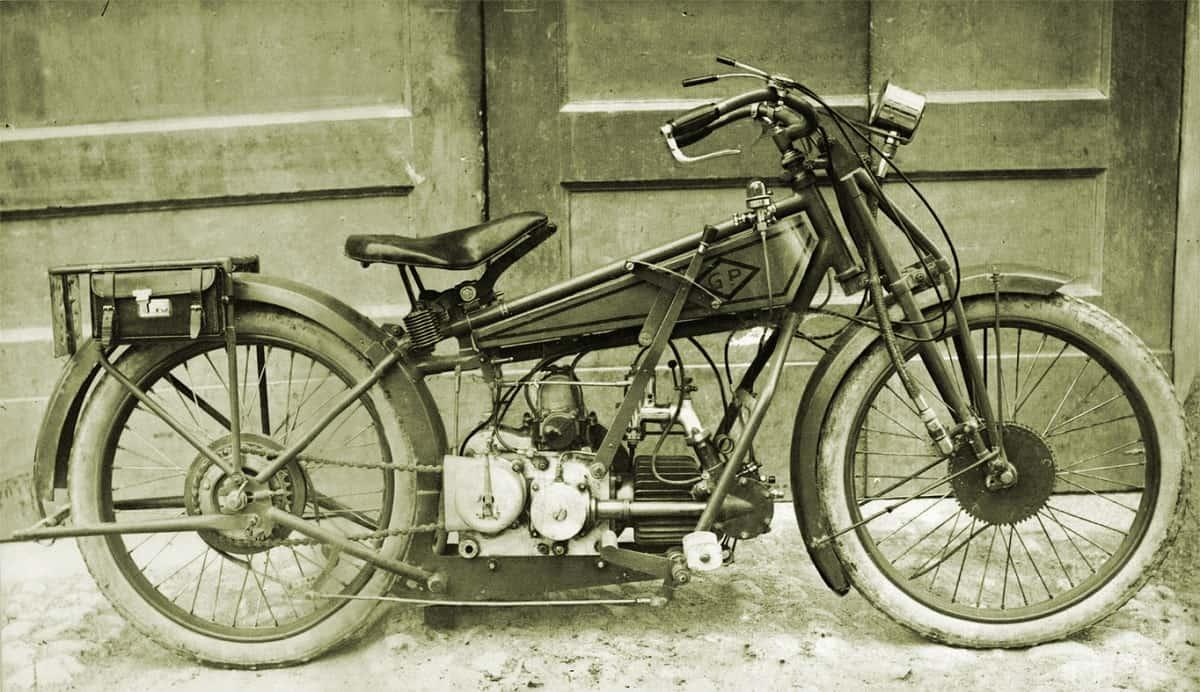 Moto Guzzi Parodi