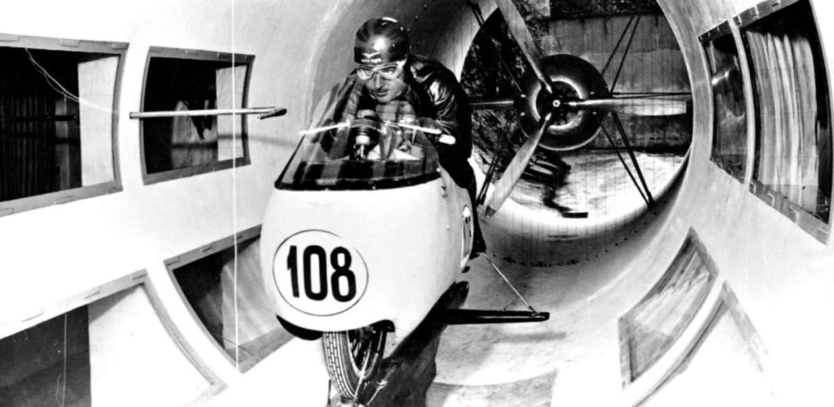 Moto Guzzi Wind Tunnel