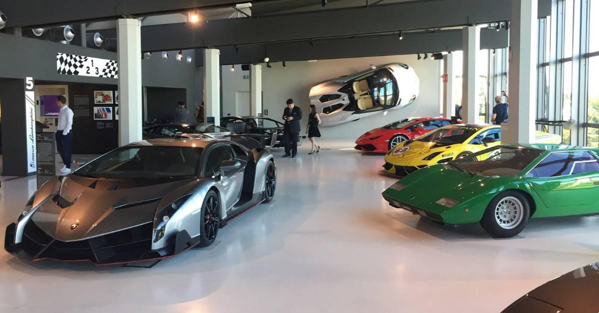 Museo Lamborghini - Lamborghini Museum