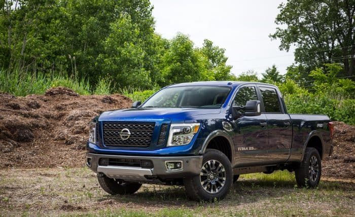 The Nissan Titan is rising in popularity
