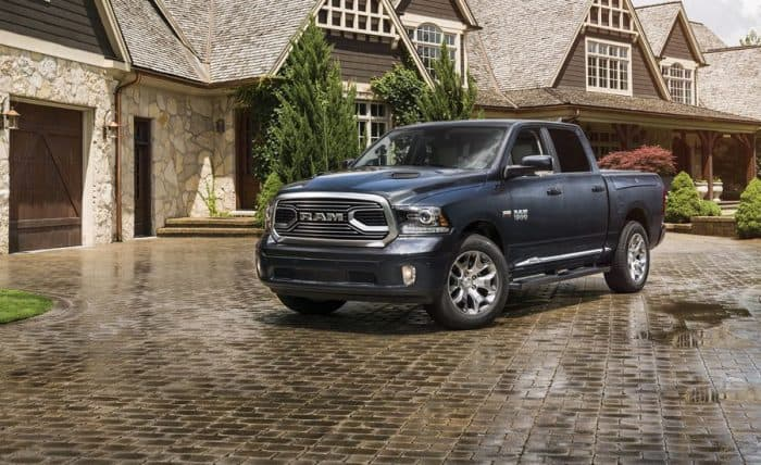 The Ram 1500 Front 3/4