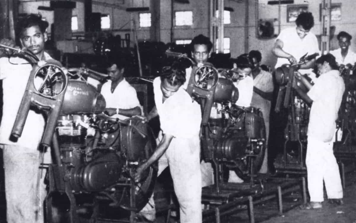 Royal Enfield India 1955