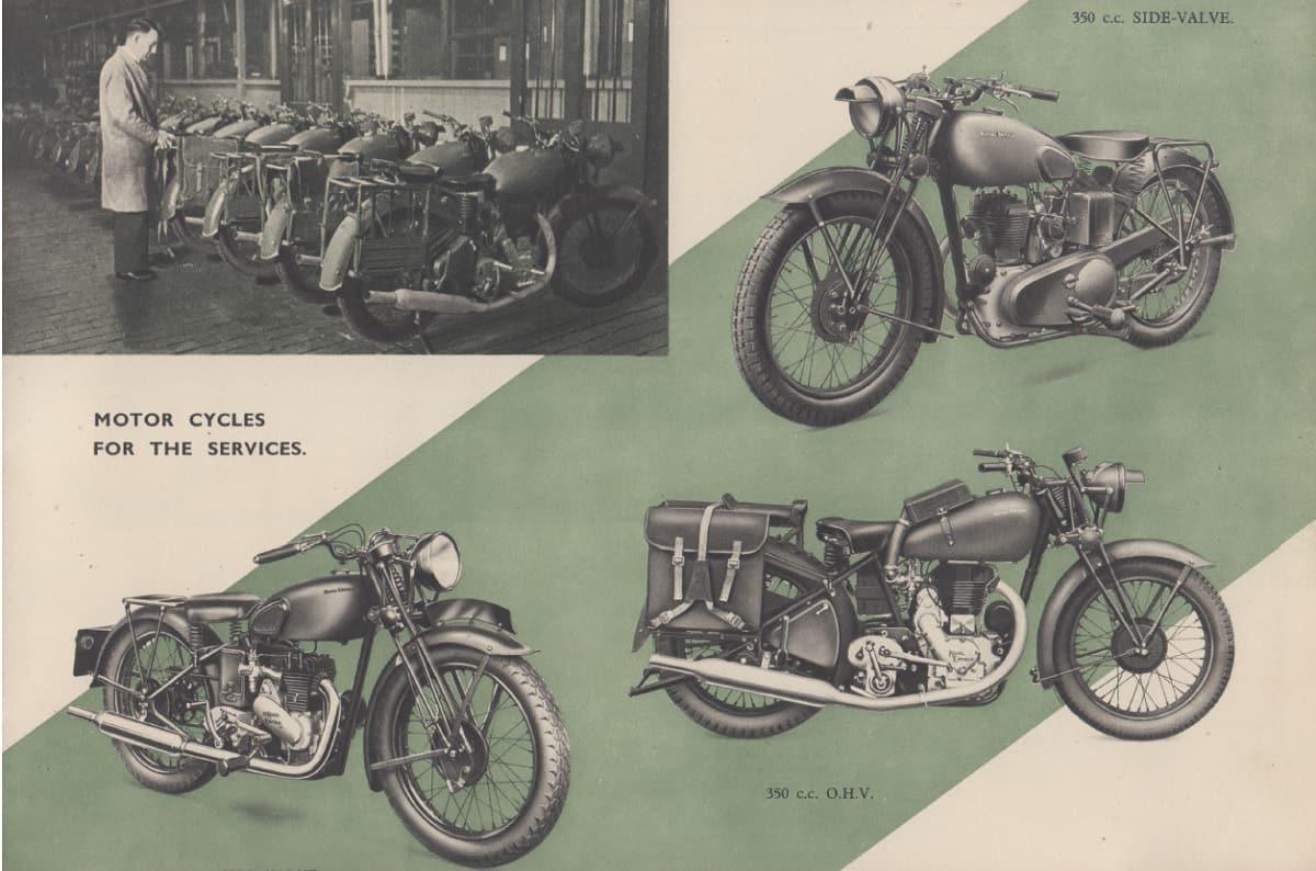 Royal Enfield War Motorcycles