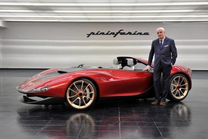Pininfarina Sergio Side