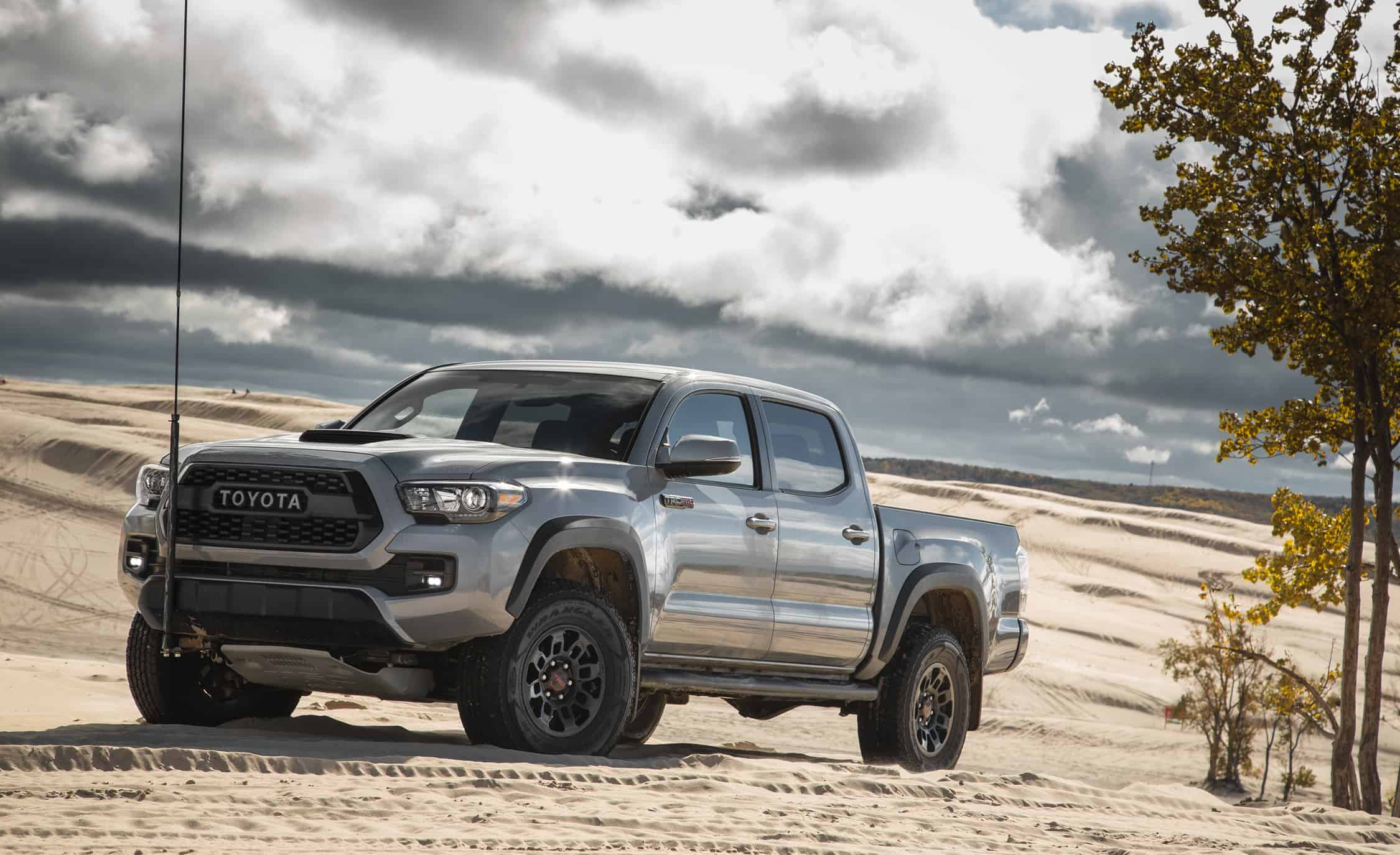 The Toyota Tacoma is one of the fastest trucks on the market