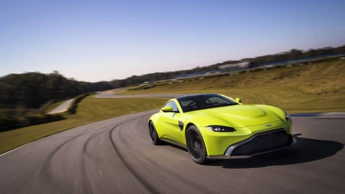 The Aston Martin V8 Vantage is one of the sexiest high-end V8 engine cars in existence