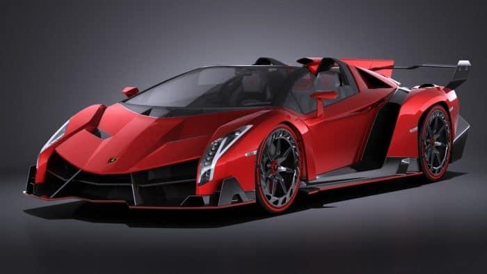 Lamborghini Veneno Roadster Front 3/4