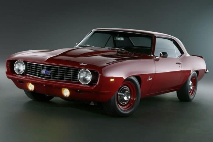 COPO Camaro tops the list of classic cheap muscle cars in the US market.