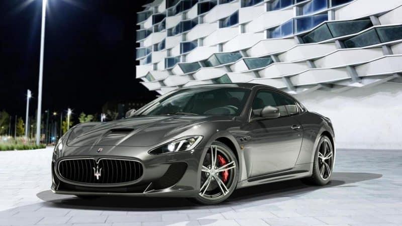 Maserati Granturismo Coupe Front 3 4 View
