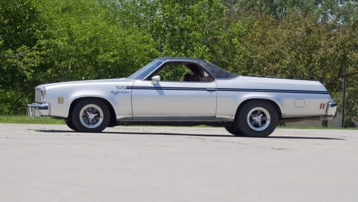 Stylish classic cheap muscle car - the Chevrolet El Camino