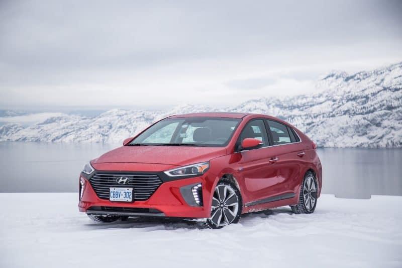 Hyundai Ioniq 3/4 view