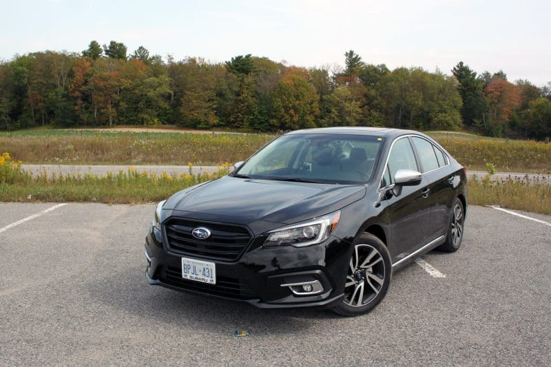 Subaru Legacy front 3/4 view