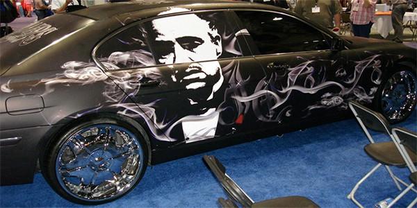 Godfather Vehicle Wrap