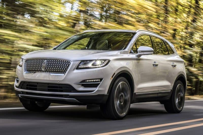 Lincoln MKC front 3/4 view