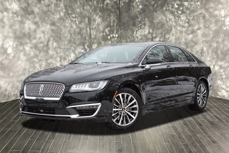 Lincoln MKZ front 3/4 view