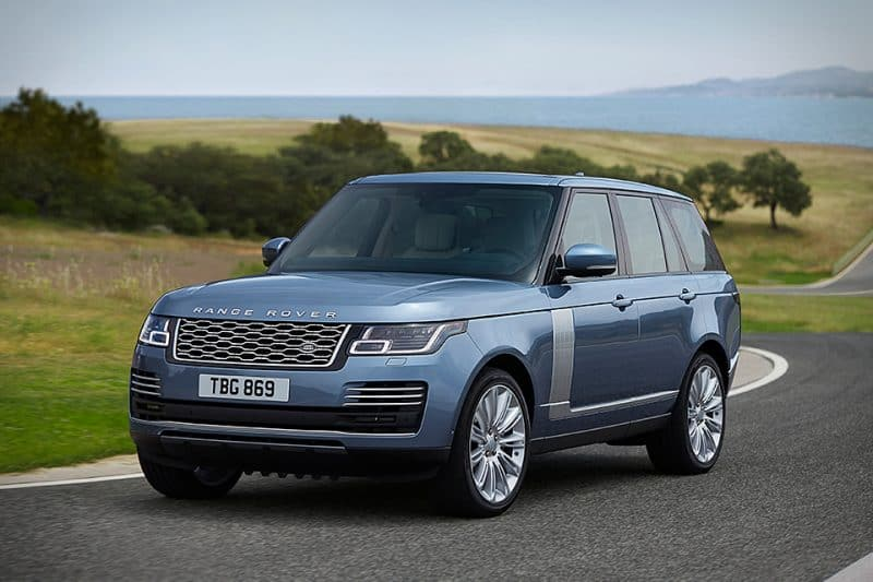 Land Rover Range Rover front 3/4 view