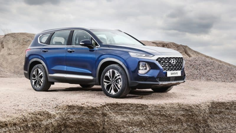 All-new 2019 Hyundai Santa Fe