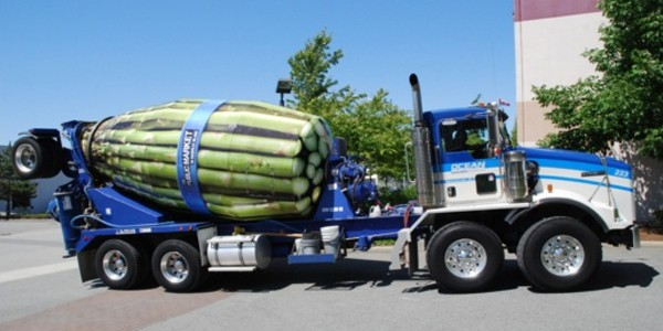 Aspargus Cement Truck