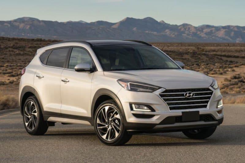Hyundai Tucson 3/4 view