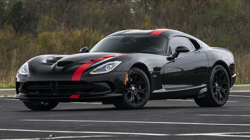 Dodge Viper SRT Front 3/4