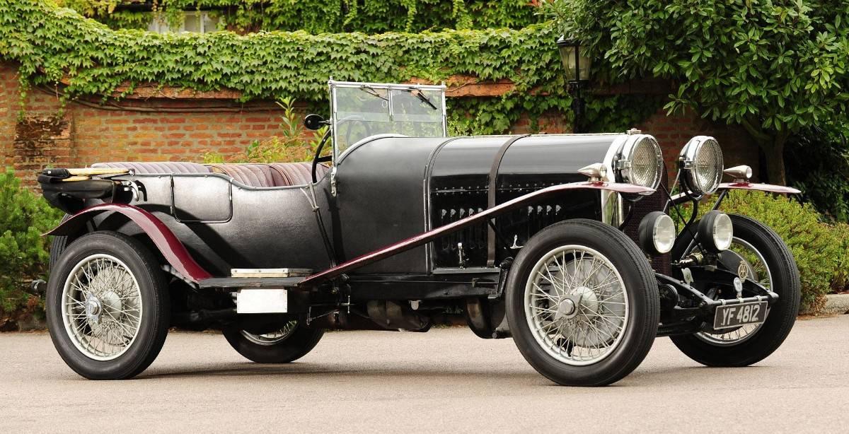 1921 Bentley - passenger side view