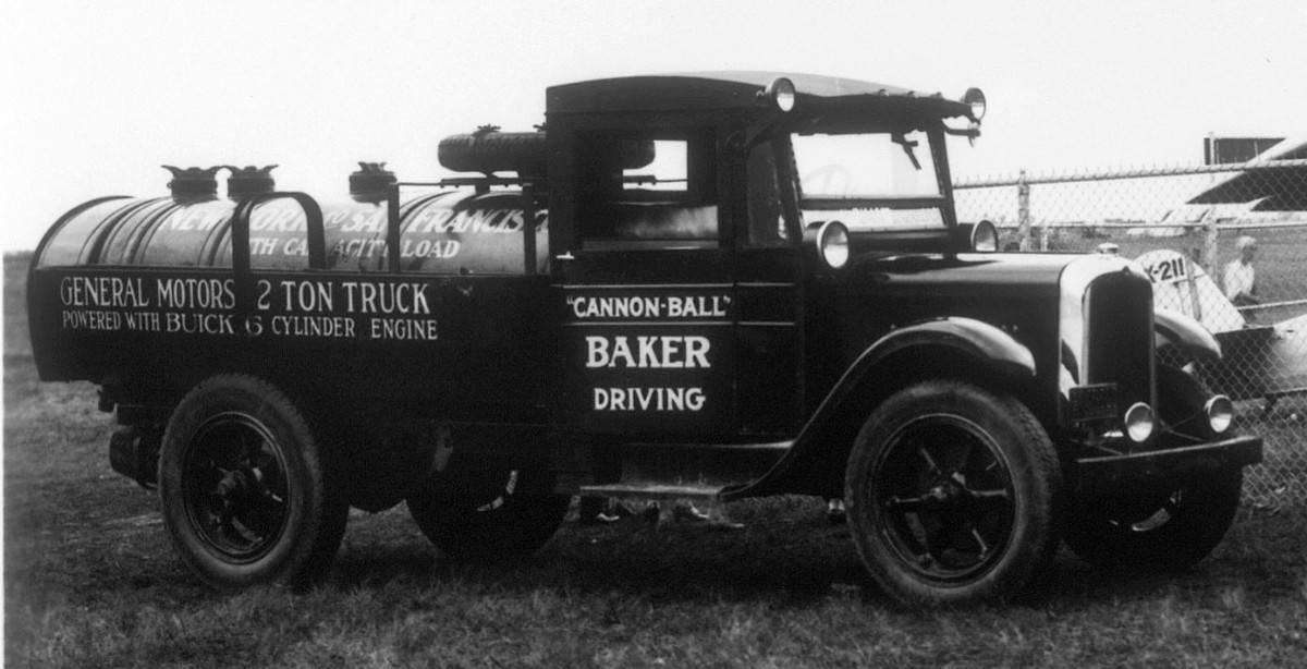 1927 GMC 2 ton tanker