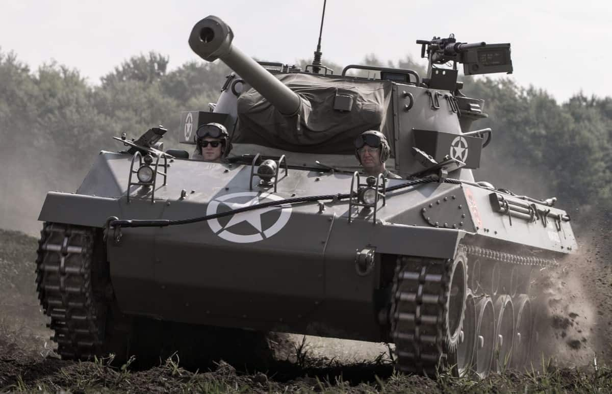 1944 Buick M18 Hellcat Tank - front view