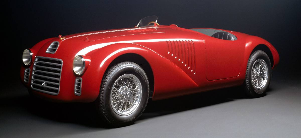 1947 Ferrari 125 Sport - left front view