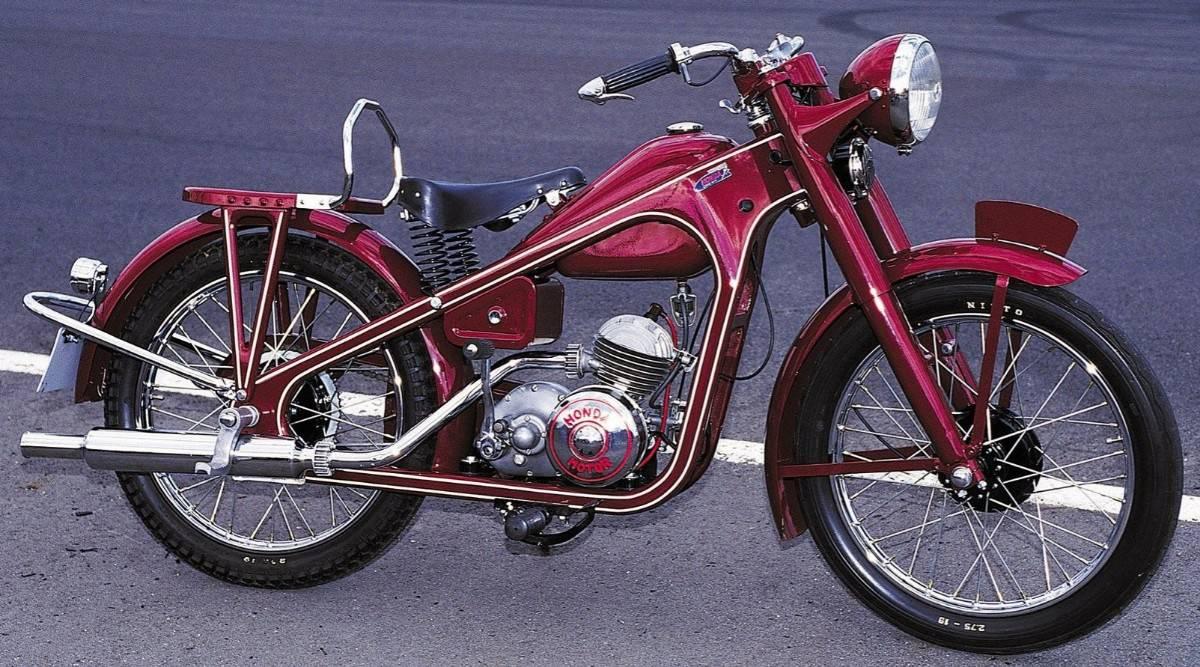 1949 Honda Type D motorcycle