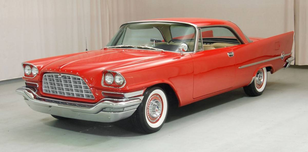 1958 Chrysler 300D - left front view
