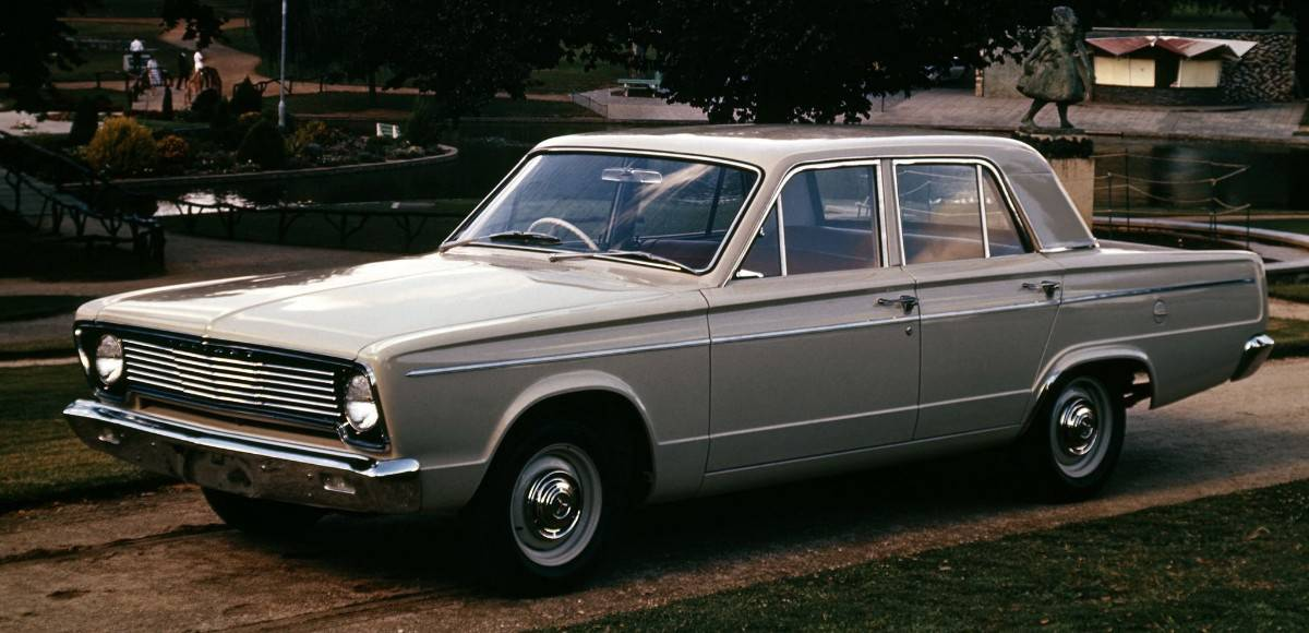 1966 Dodge Valiant - left side view