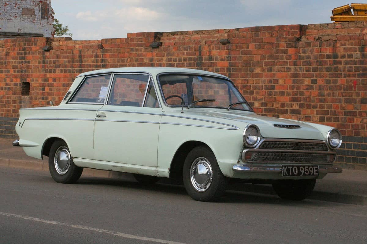 1967 Ford Cortina - right front view