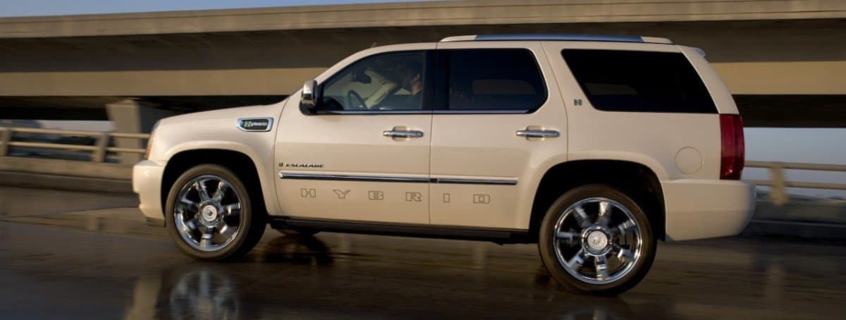 2009 Cadillac Escalade Hybrid - left side view
