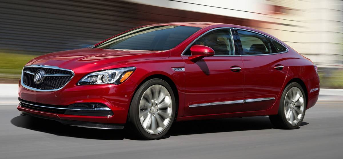 2018 Buick LaCrosse eAssist - Buick hybrid vehicle