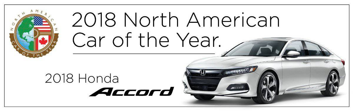 2018 Honda Accord - North American Car of the Year
