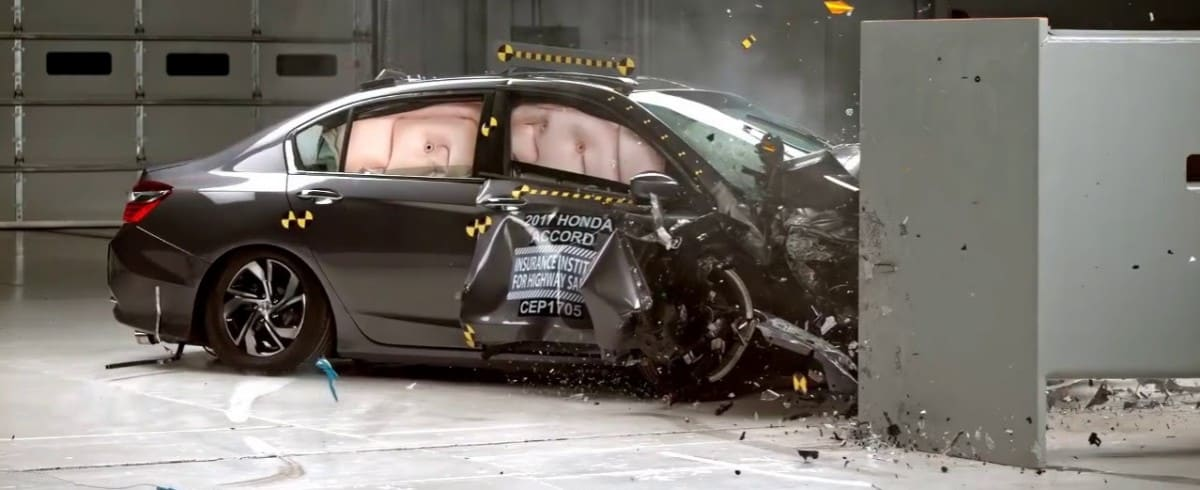 2018 Honda Accord - crash test