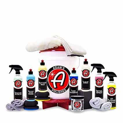 Adam's Essentials Car Detailing Kit